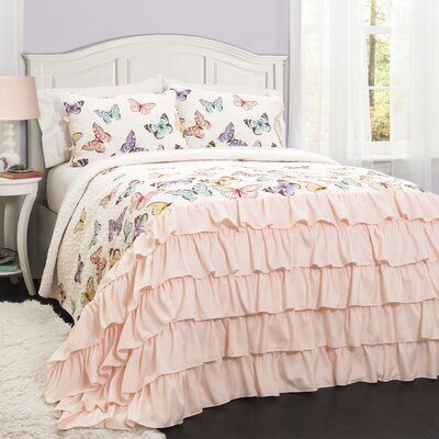 Therrien Quilt Set Size: Twin