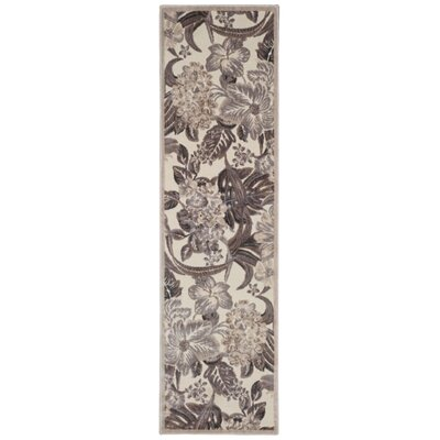 Galva Ivory Area Rug Rug Size: Runner 23 x 8