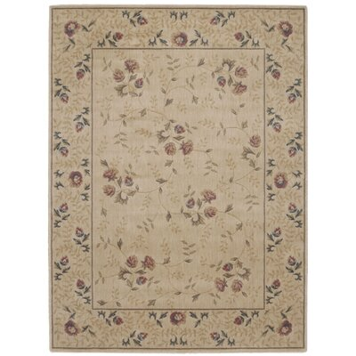 Sharon Taupe/Burgundy Area Rug Rug Size: 79 x 1010