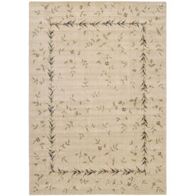 Sharon Beige Area Rug Rug Size: Rectangle 36 x 56