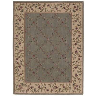 Sharon Gray/Beige Area Rug Rug Size: Rectangle 79 x 1010