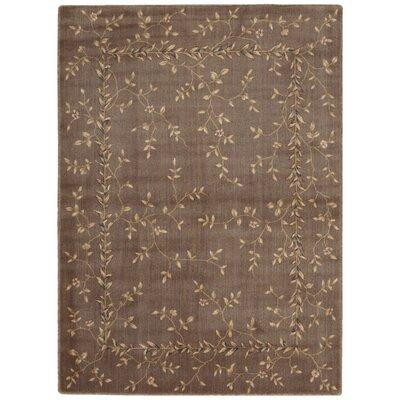 Sharon Khaki Area Rug Rug Size: 36 x 56