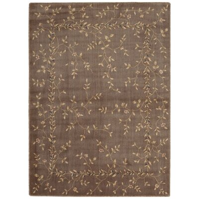 Sharon Khaki Area Rug Rug Size: Rectangle 56 x 75