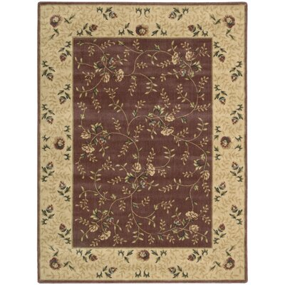 Sharon Rose Area Rug Rug Size: Rectangle 56 x 75