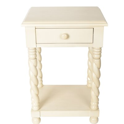 Lilliana End Table Finish: White