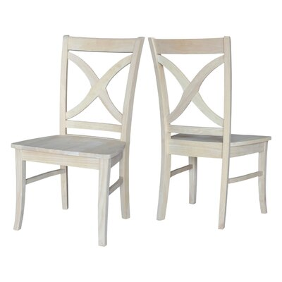 Claudine Solid Wood Dining Chair