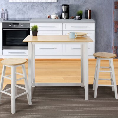 Sigrid 3 Piece Counter Height Pub Table Set