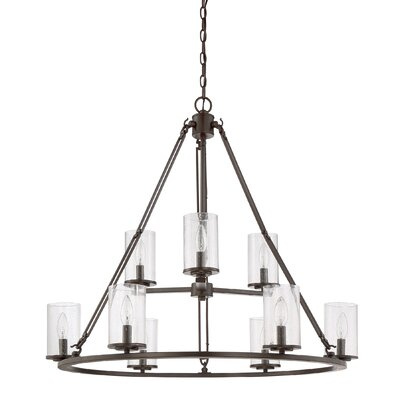 Petersburg 9-Light Candle-Style Chandelier