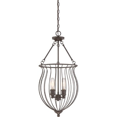 Frida 4-Light Foyer Pendant