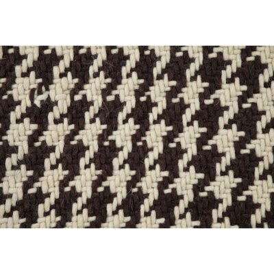 Cassie Brown/Cream Area Rug Rug Size: 2'3
