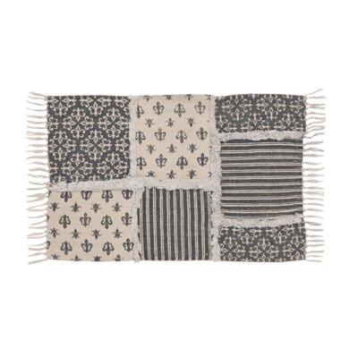 Aurelia Black/Gray Area Rug Rug Size: 5 x 8