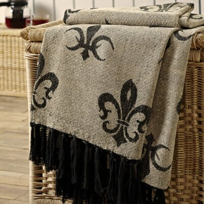 Aurelia Chenille Jacquard Woven Viscose Throw
