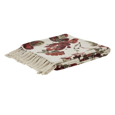 Thea Printed Woven Cotton Throw