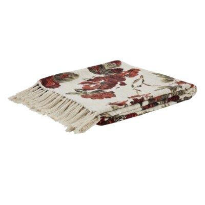 Thea Printed Woven Cotton Throw