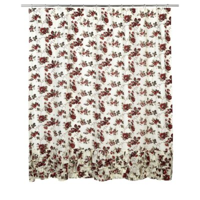Thea Cotton Ruffled Shower Curtain