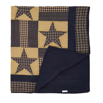 Timbrell Quilted Cotton Throw