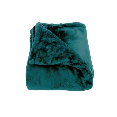 Harper Throw Blanket Size: Full / Queen, Color: Teal
