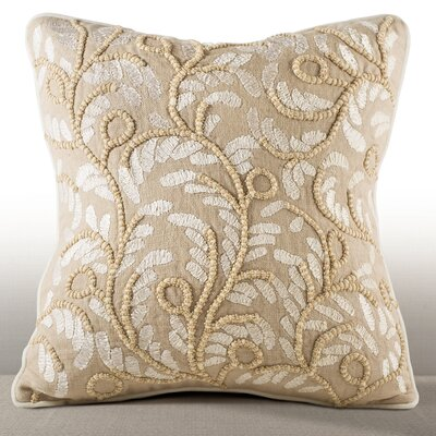 Dunn Center Linen Throw Pillow