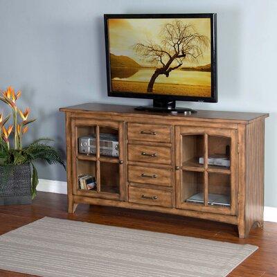 Corine 64 TV Stand Color: Wood