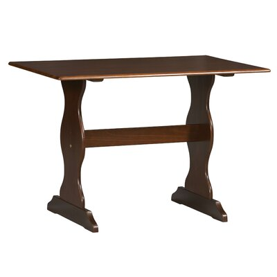 Patty Nook Kitchen Table Finish: Walnut