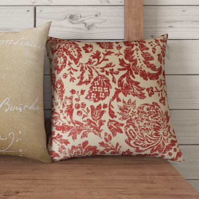 Elma Throw Pillow Size: 18 H x 18 W