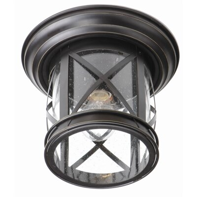 Goulette 1-Light Flush Mount