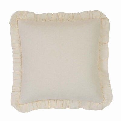 Idell 100% Cotton Throw Pillow