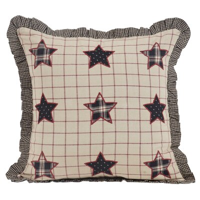McClusky 100% Cotton Throw Pillow