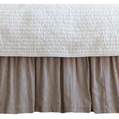 Zona Stripe 350 Thread Count Bed Skirt Size: Twin