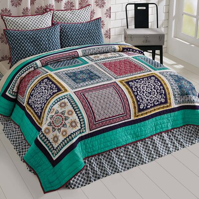 Sheldon Quilt Set Size: King