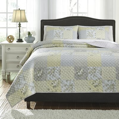 Goldenrod 3 Piece Quilt Set Size: King