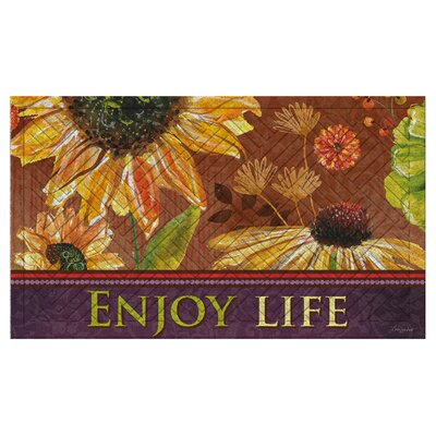 Powder Springs Enjoy Life Embossed Doormat