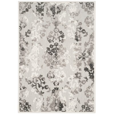 Suri Gray/Dark Gray Area Rug Rug Size: Rectangle 9 x 12