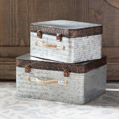 2 Piece Classy Box Decorative Set