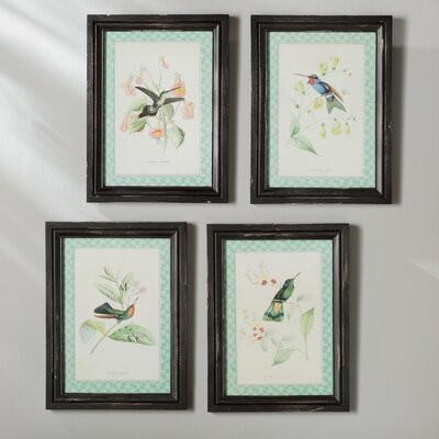 Hummingbird 4 Piece Set