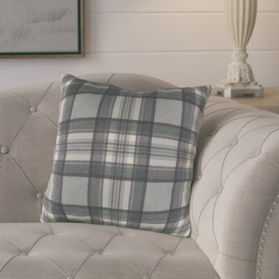 Cavalier Cotton Throw Pillow Size: 18 H x 18 W x 4 D, Color: Black