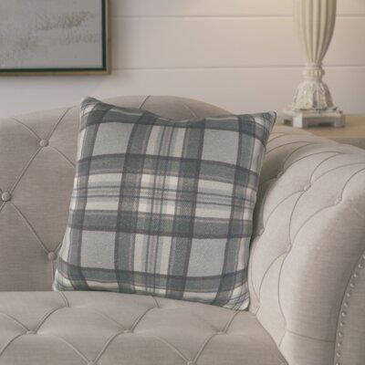 Cavalier Cotton Throw Pillow Size: 20 H x 20 W x 4 D, Color: Black