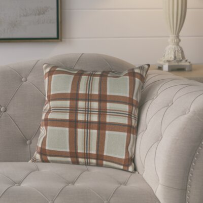 Cavalier Cotton Pillow Cover Size: 20 H x 20 W x 0.25 D, Color: Brown