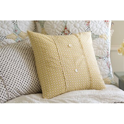 Caille Dijon Porch Throw Pillow
