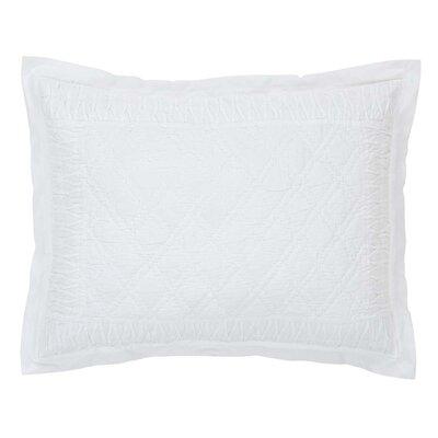 Madelyn Sham Size: Standard, Color: White