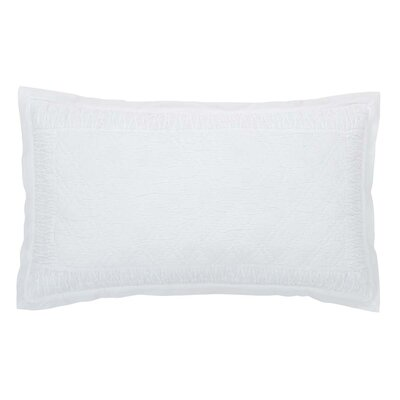 Madelyn Sham Size: Luxury, Color: White