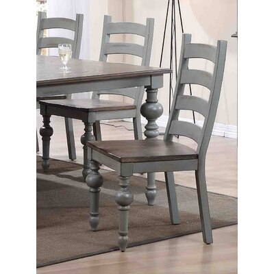 Serpentaire Ladder Solid Wood Dining Chair