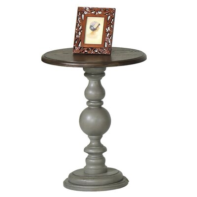 Serpentaire Pedestal Chairside Table