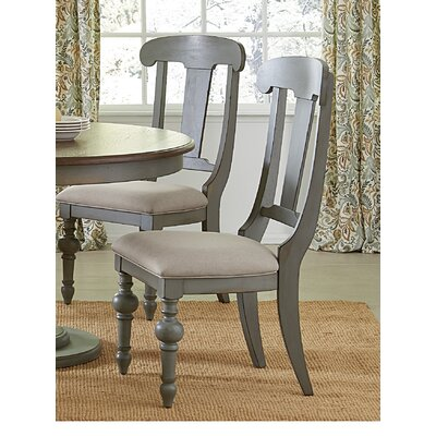 Serpentaire Slat Side Chair