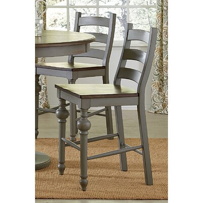 Serpentaire Traditional Ladder Solid Wood Dining Chair