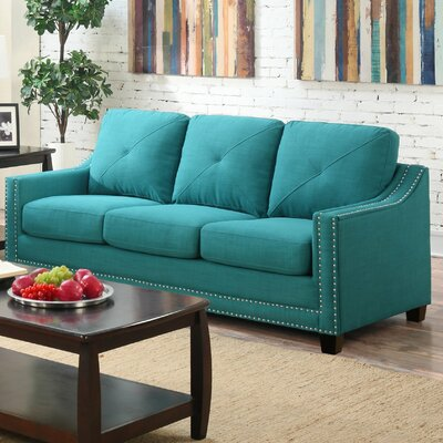 Vaillancourt Sofa Upholstery: Teal