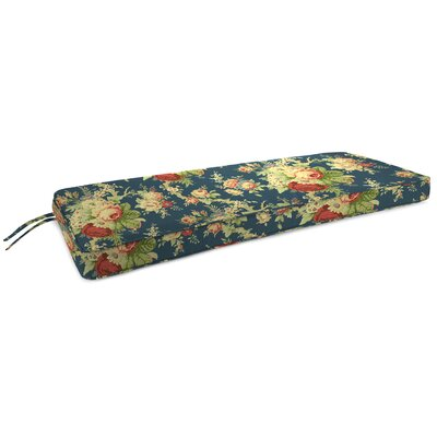 Indoor Bench Cushion Fabric: Sanctuary Rose Heritage