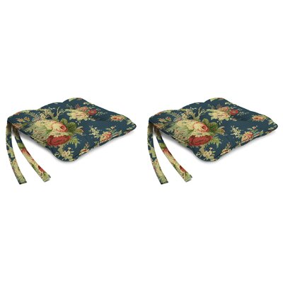 Indoor Chair Cushion Fabric: Sanctuary Rose Heritage