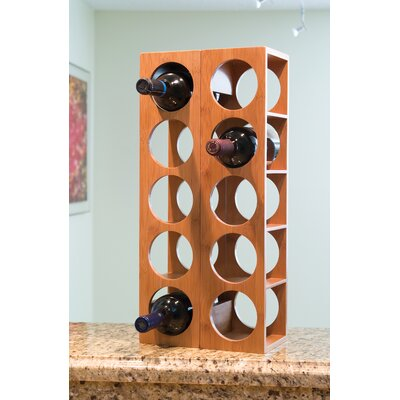 Beula 5 Bottle Wall Mounted Wine Rack