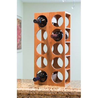 Beula 5 Bottle Wall Mounted Wine Rack